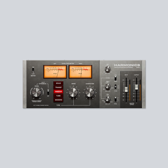 Harmonics Analog Saturation Processor
